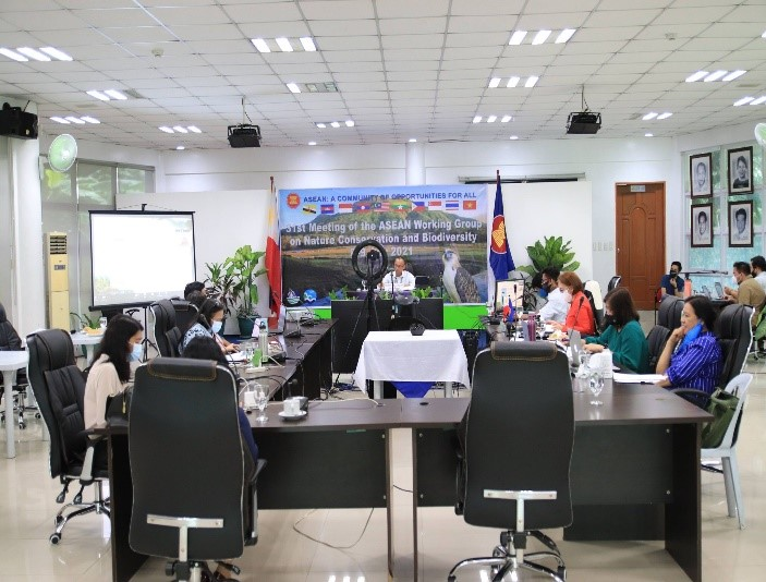 PH Chairs the 31st Meeting of the ASEAN Working Group on Nature Conservation and Biodiversity (AWGNCB)